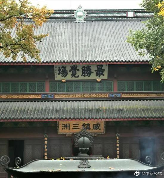 灵隐寺是谁的道场,是济公出家的地方吗?