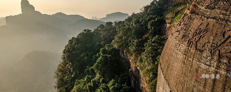 丹霞山在哪 丹霞山在哪个省