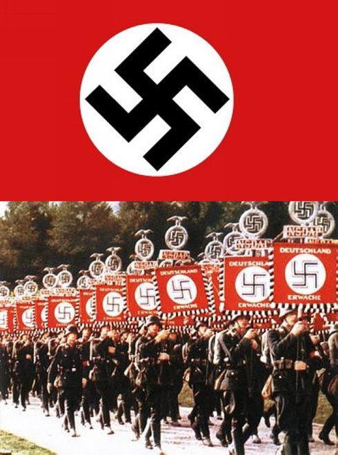 """纳粹为何使用""""卐""""作标志?"""