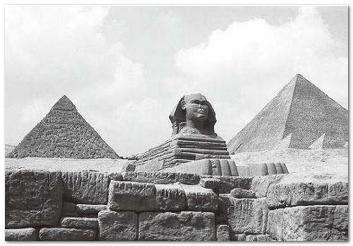 永葆神秘的埃及金字塔