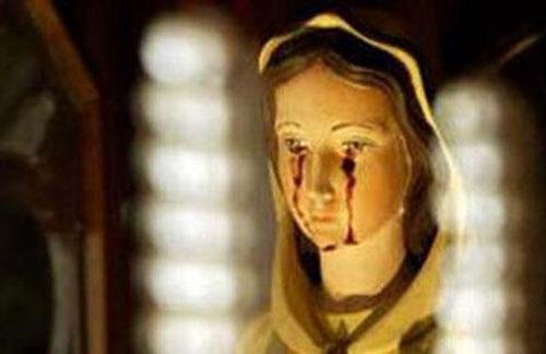 圣母血泪灵异事件的背后谜团