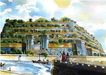 世界八大奇迹,古巴比伦空中花园竟真的存在