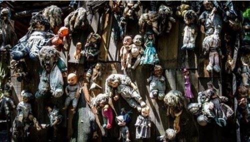 世界上最恐怖的地方 娃娃岛无比阴森诡异/被称人类禁地